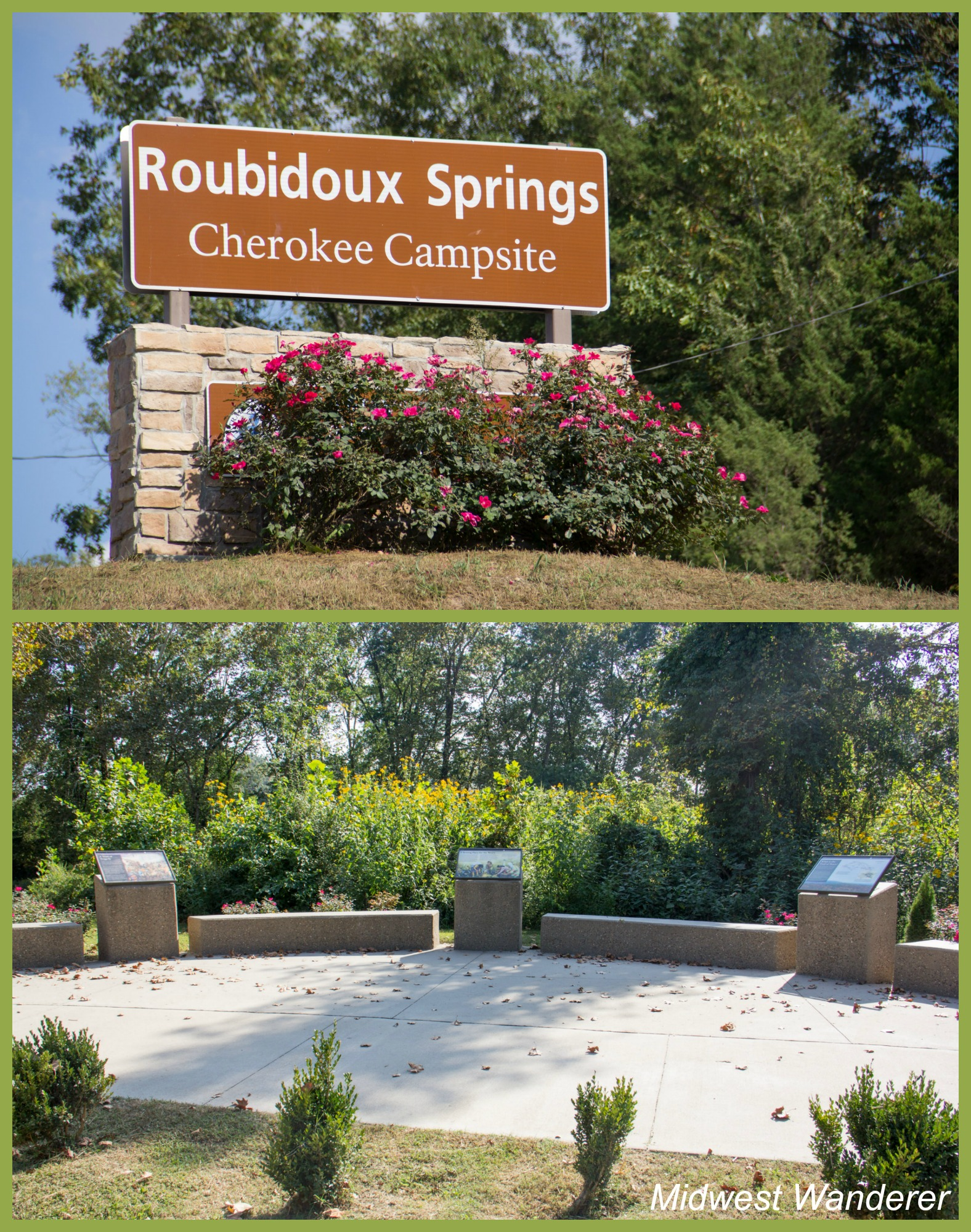 Trail of Tears Memorial at Roubidoux Springs