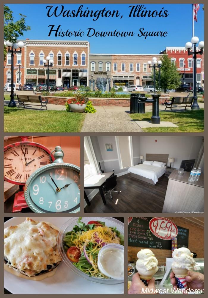Washington Illinois Historic Downtown Square