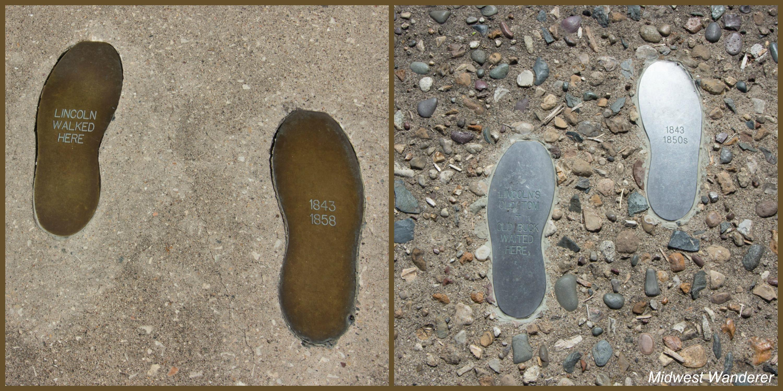 Washington Square - Lincoln footprints
