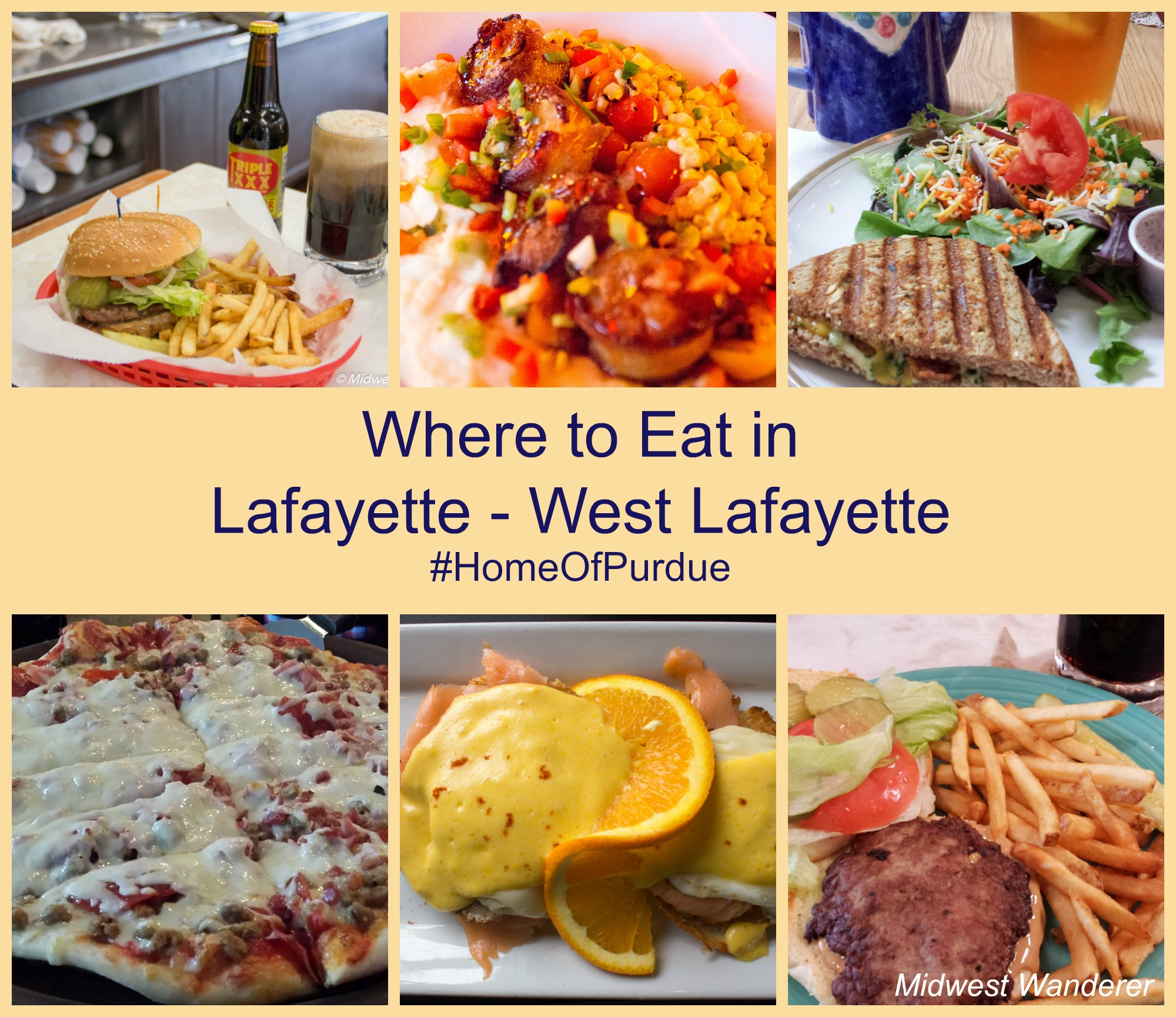Where To Eat In Lafayette And West Lafayette Indiana