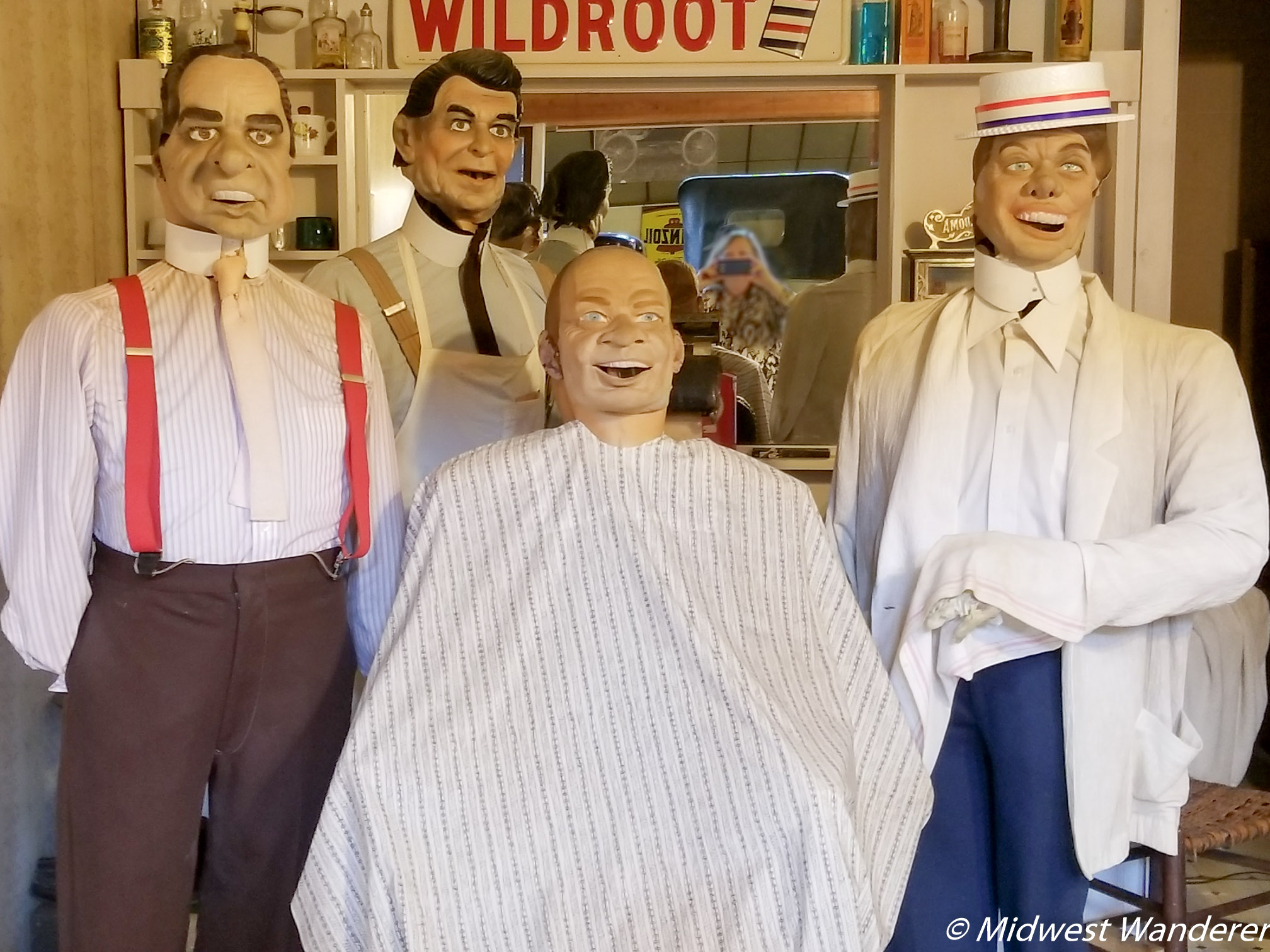 Wheels O' Time Museum - presidential barbershop quartet