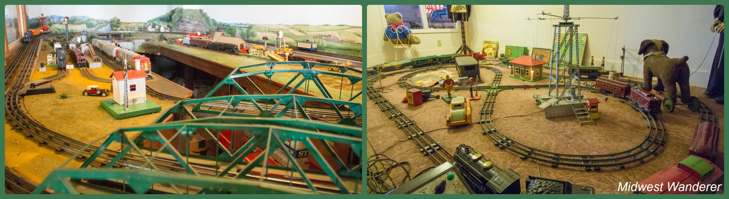 Wheels O' time Museum - model railroads