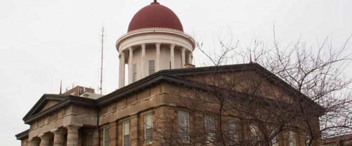 Illinois Bicentennial Year Kicks Off with Flag Raising Ceremonies