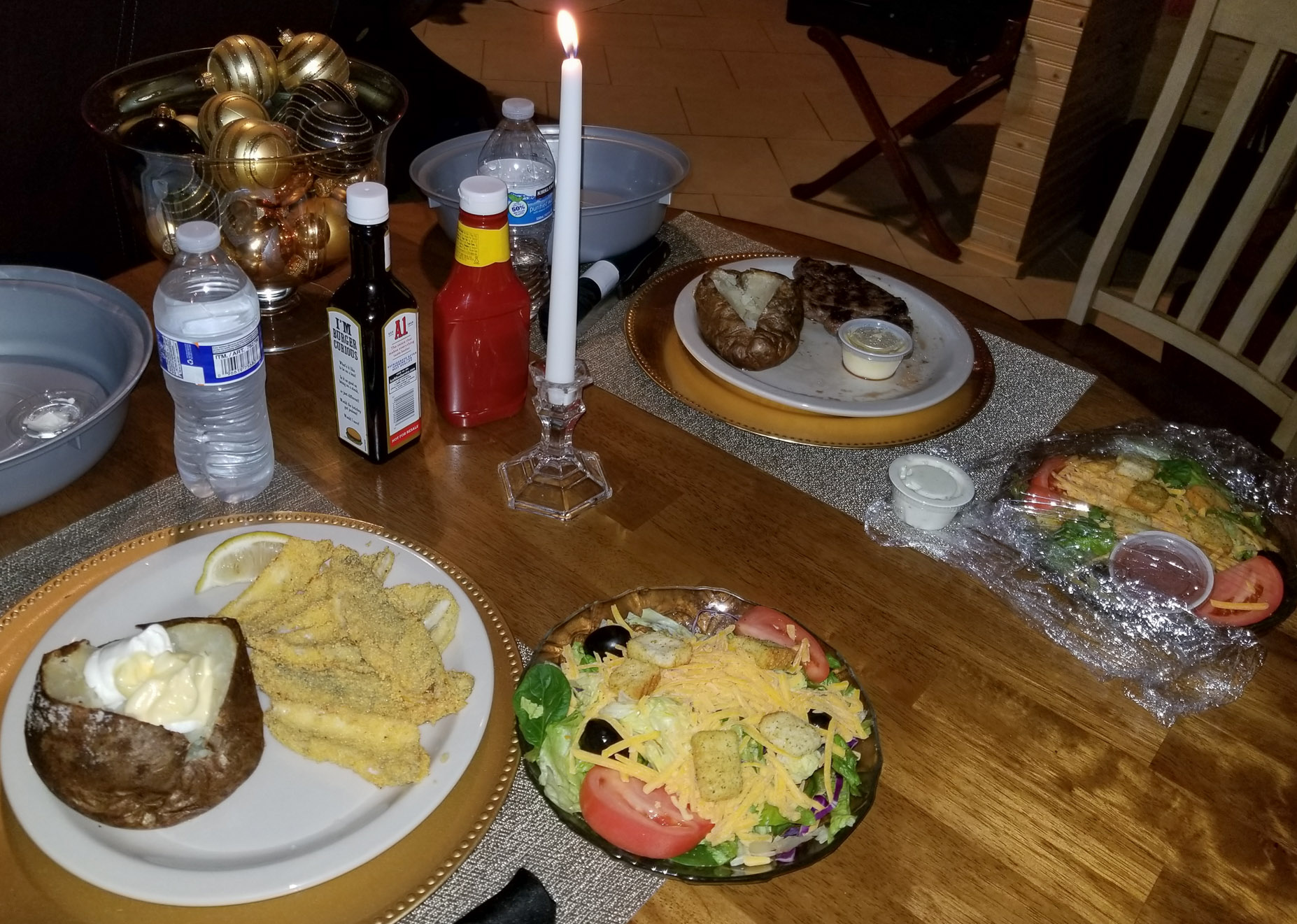 Serenity Springs - Candlelight dinner