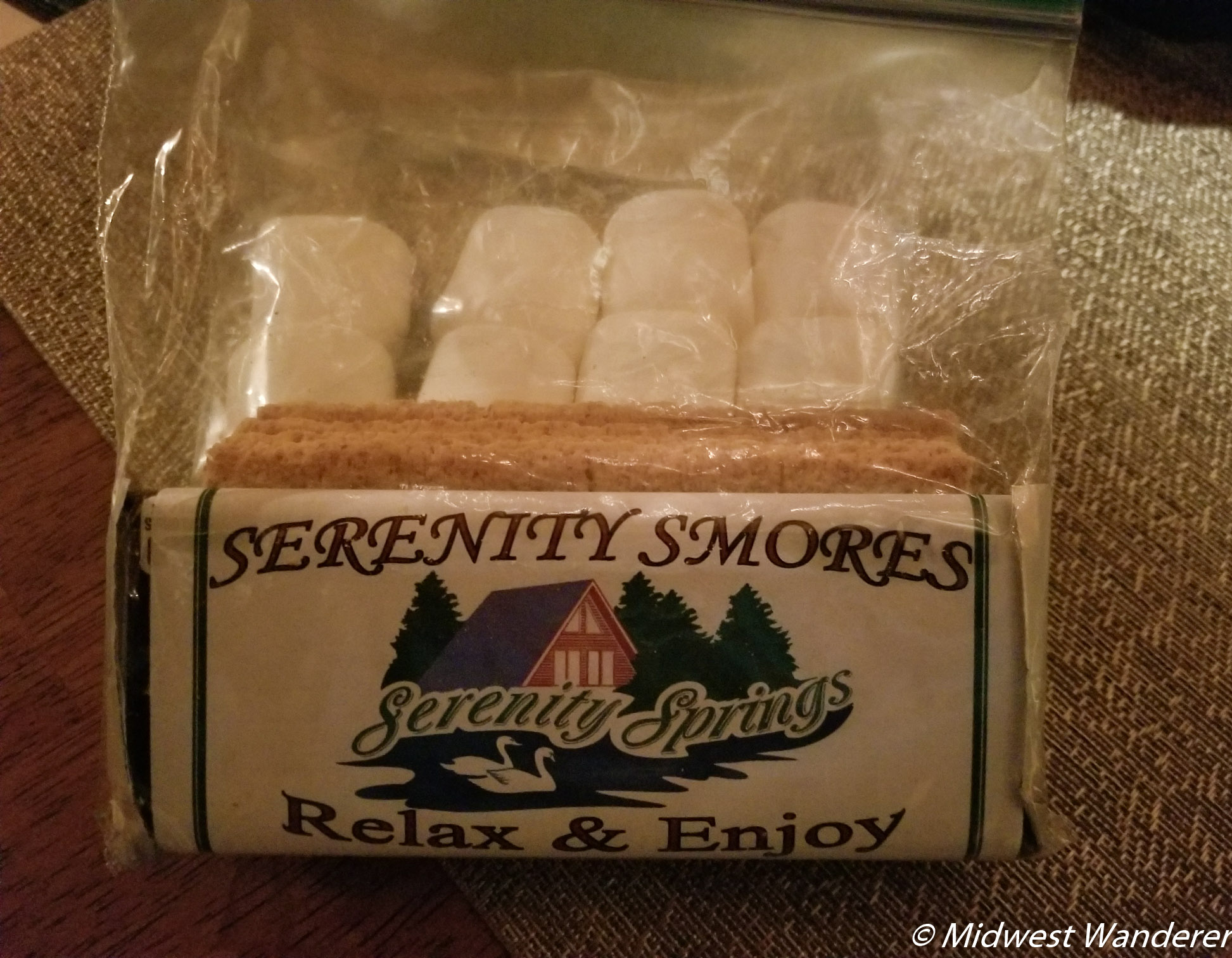 Serenity Springs - s'mores ingredients