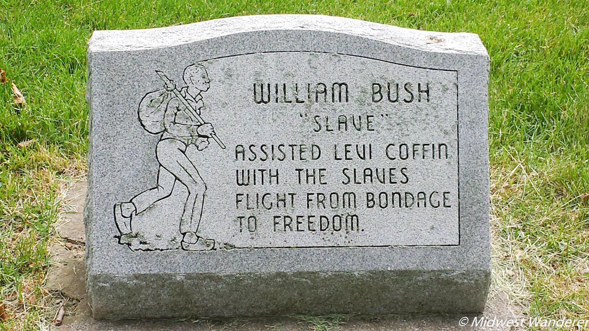 William Bush grave