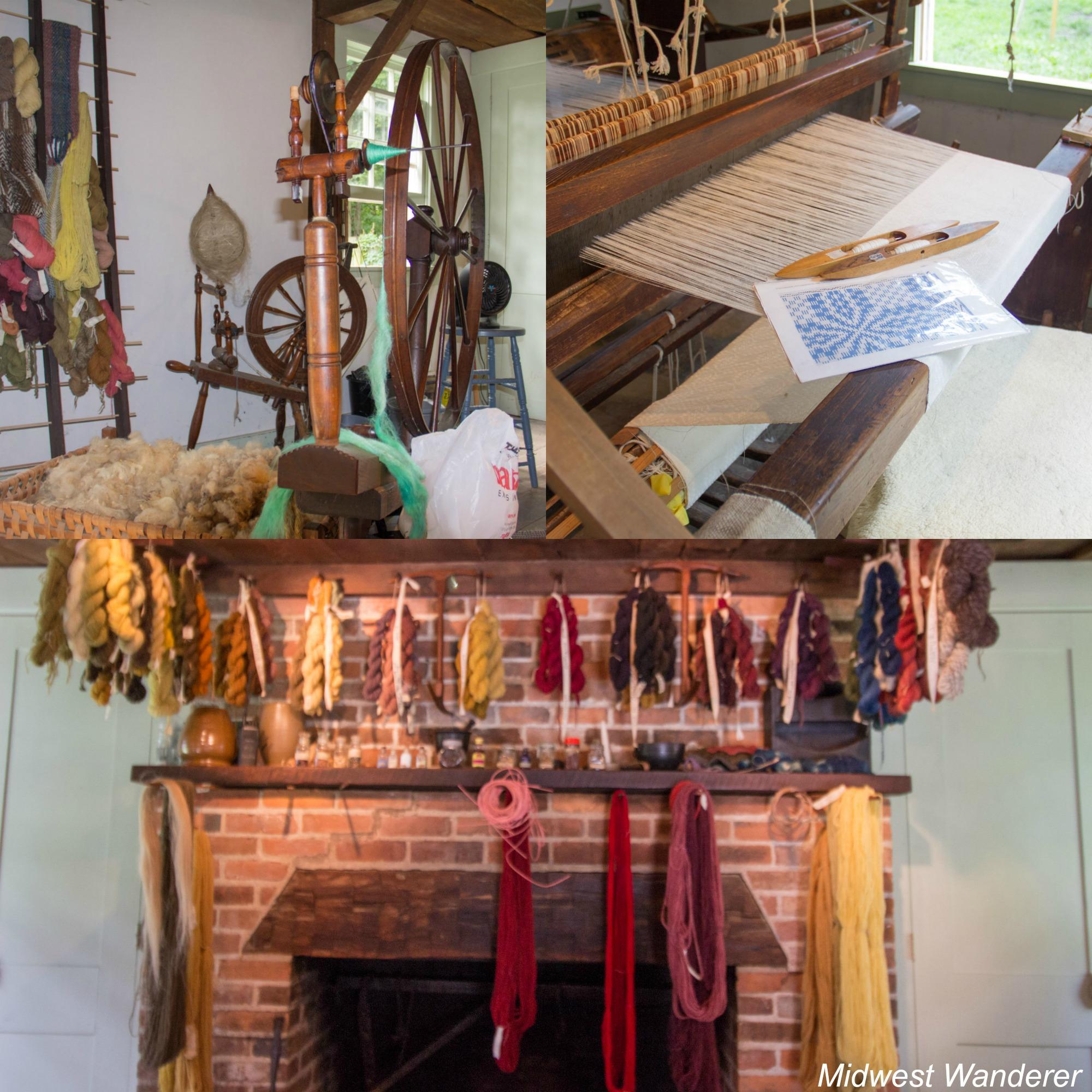 Conner Prairie - Loom House