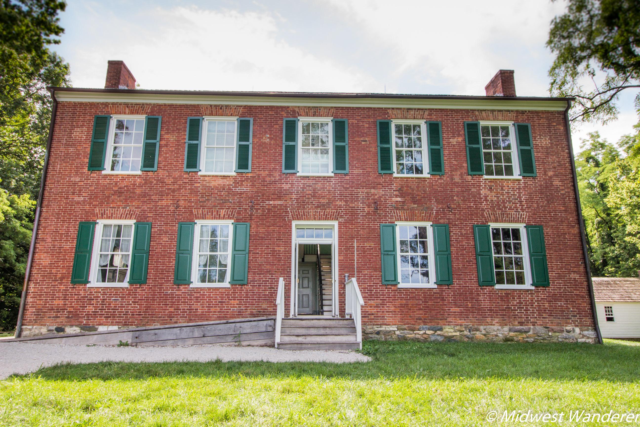 Conner Prairie William Conner House