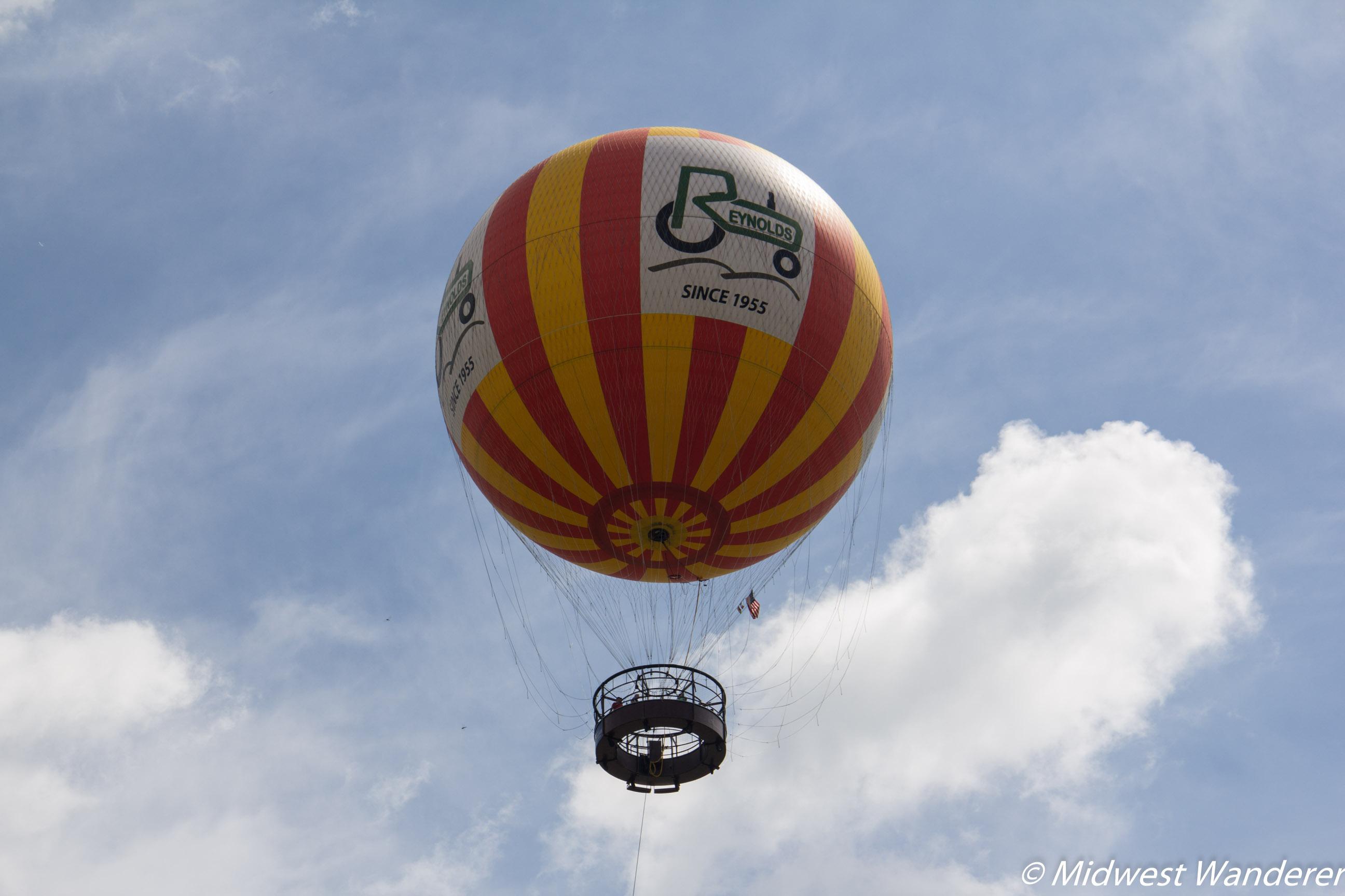 Conner Prairie balloon ride
