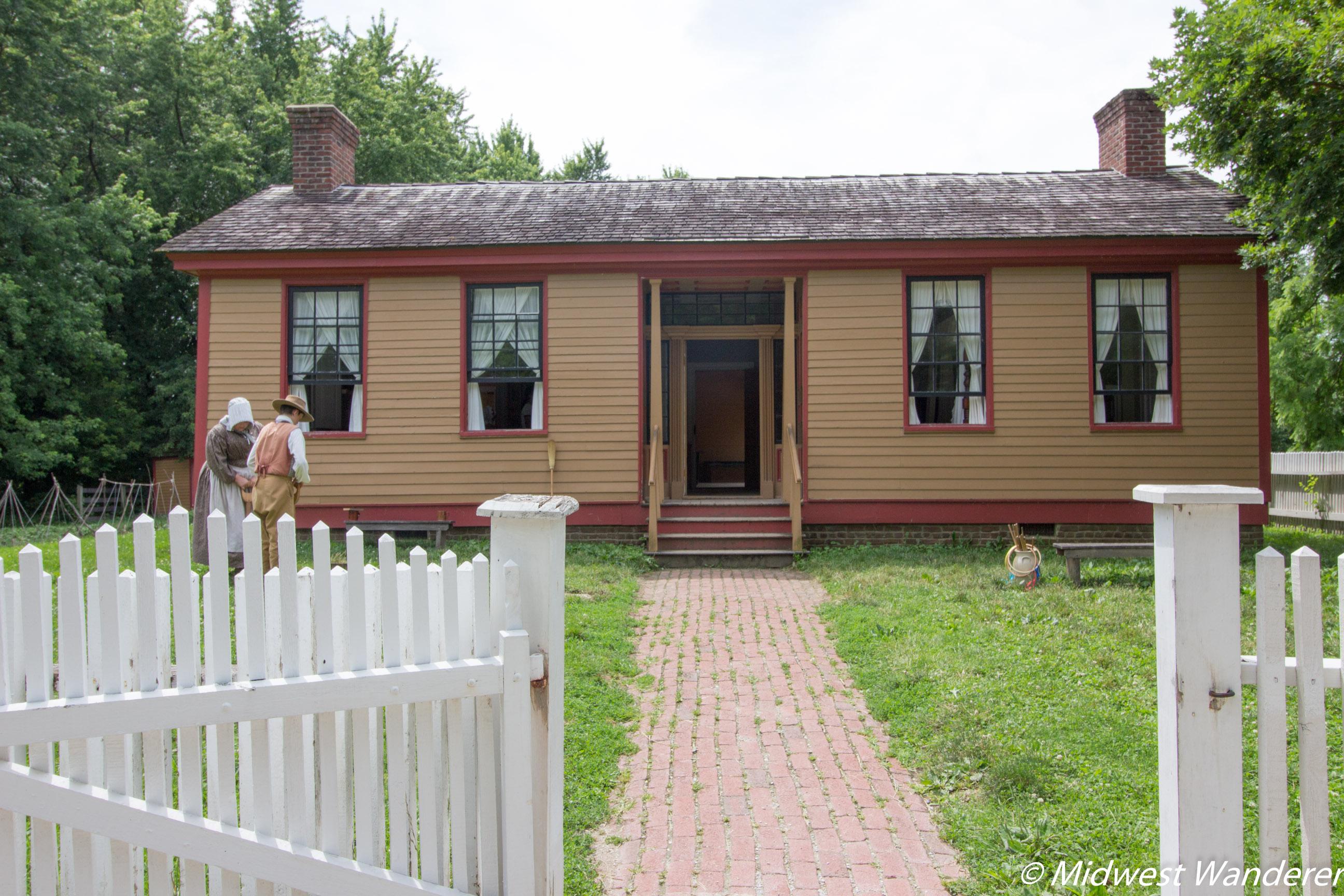 Conner Prairie Prairietown house