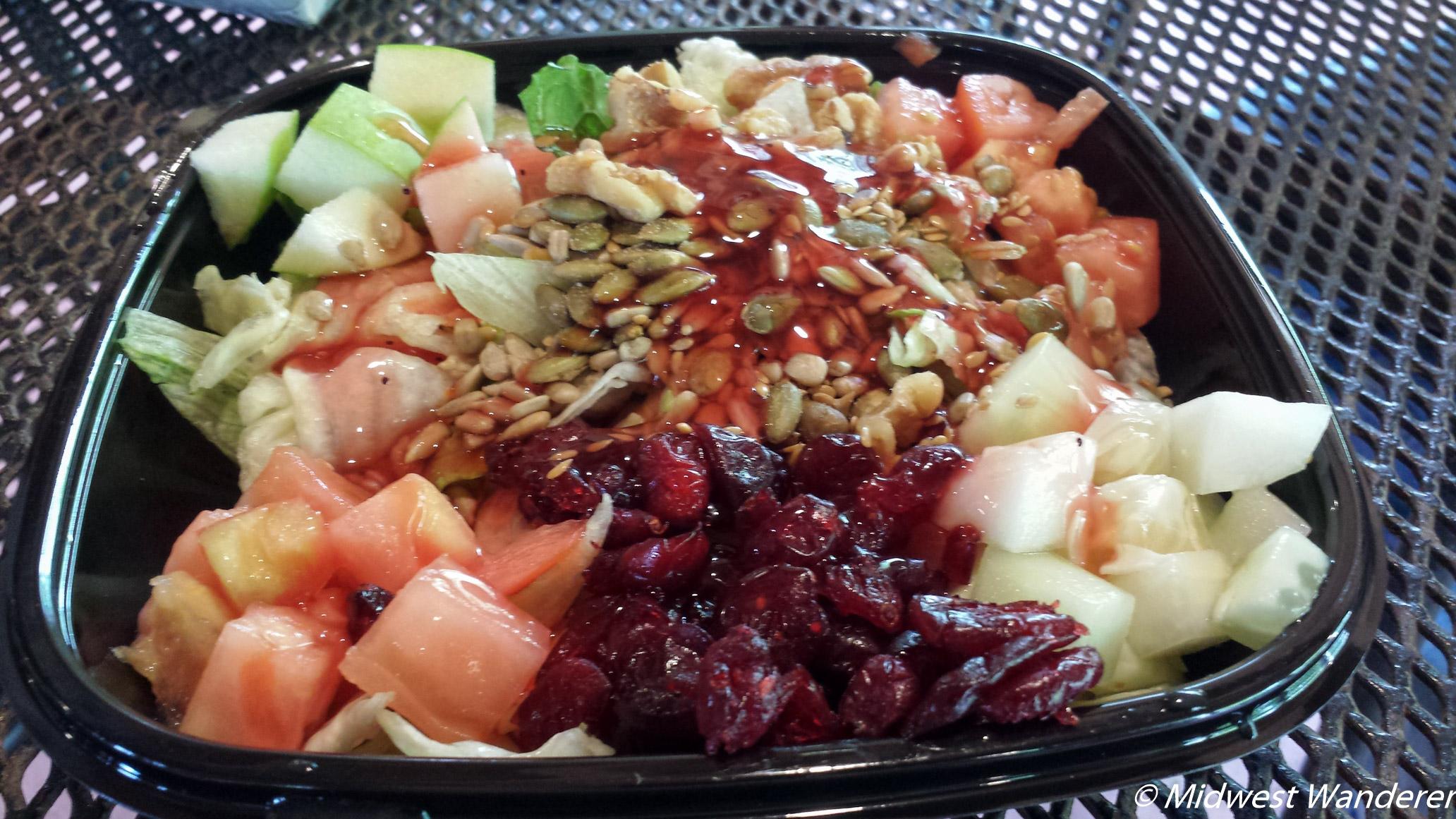 Conner Prairie salad