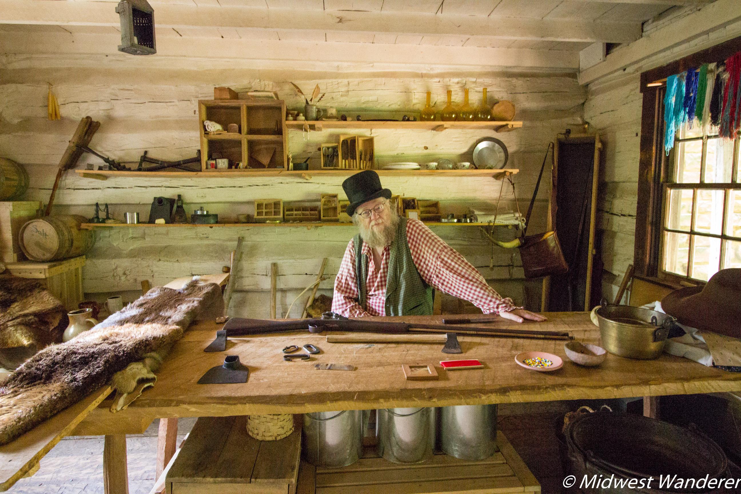 Conner Prairie Lenape Indiana Camp 2