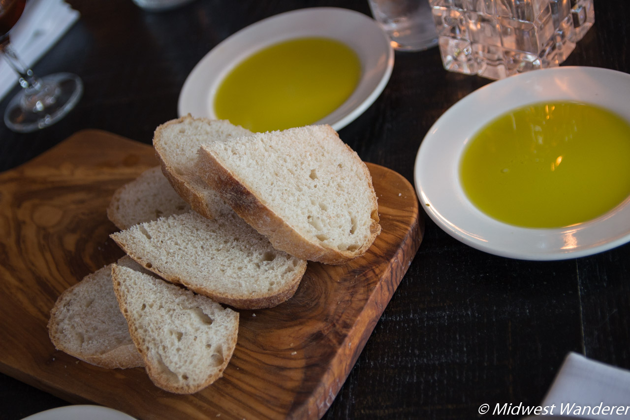 Fieldhouse bread and olive oil