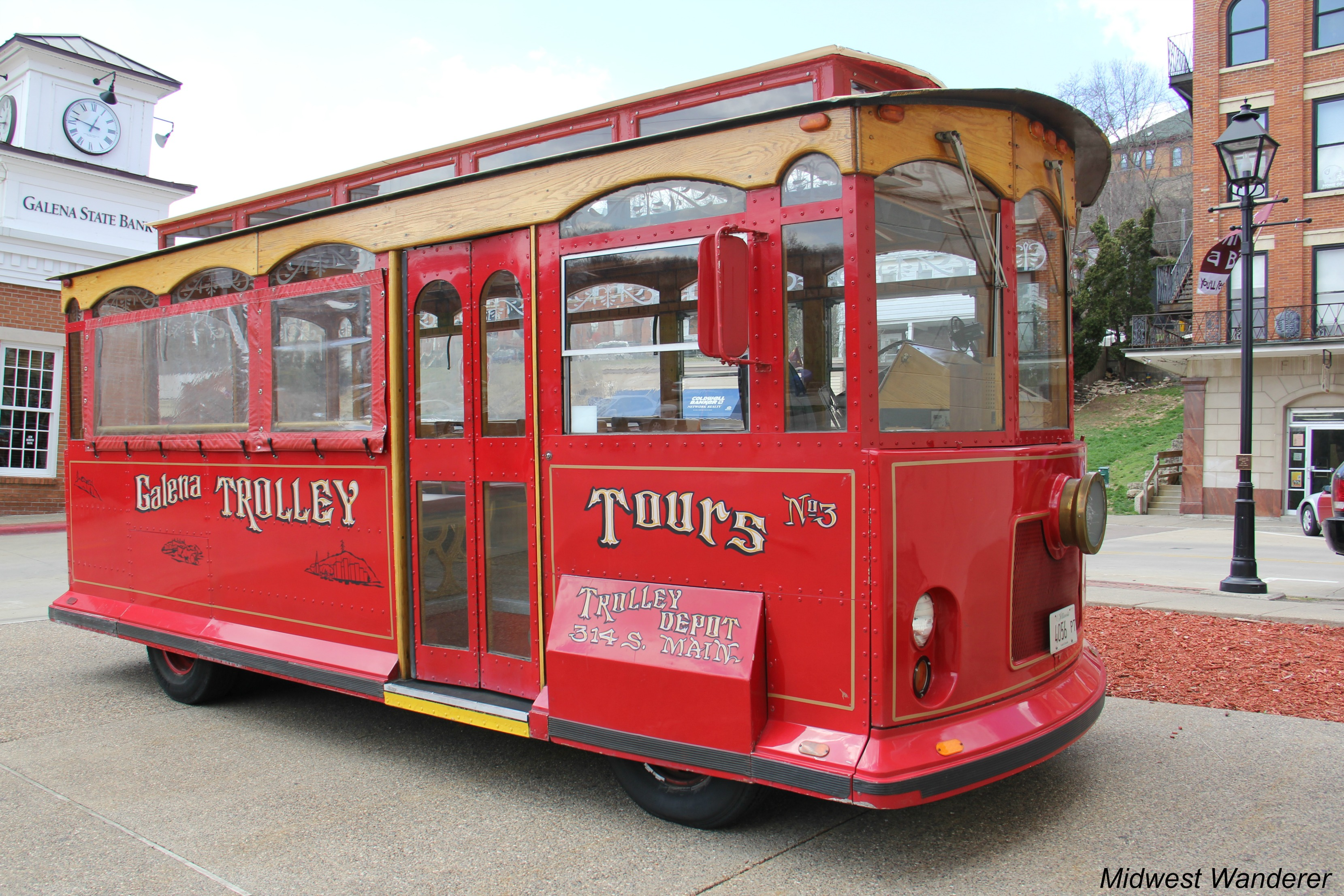 Galena Trolley Tour