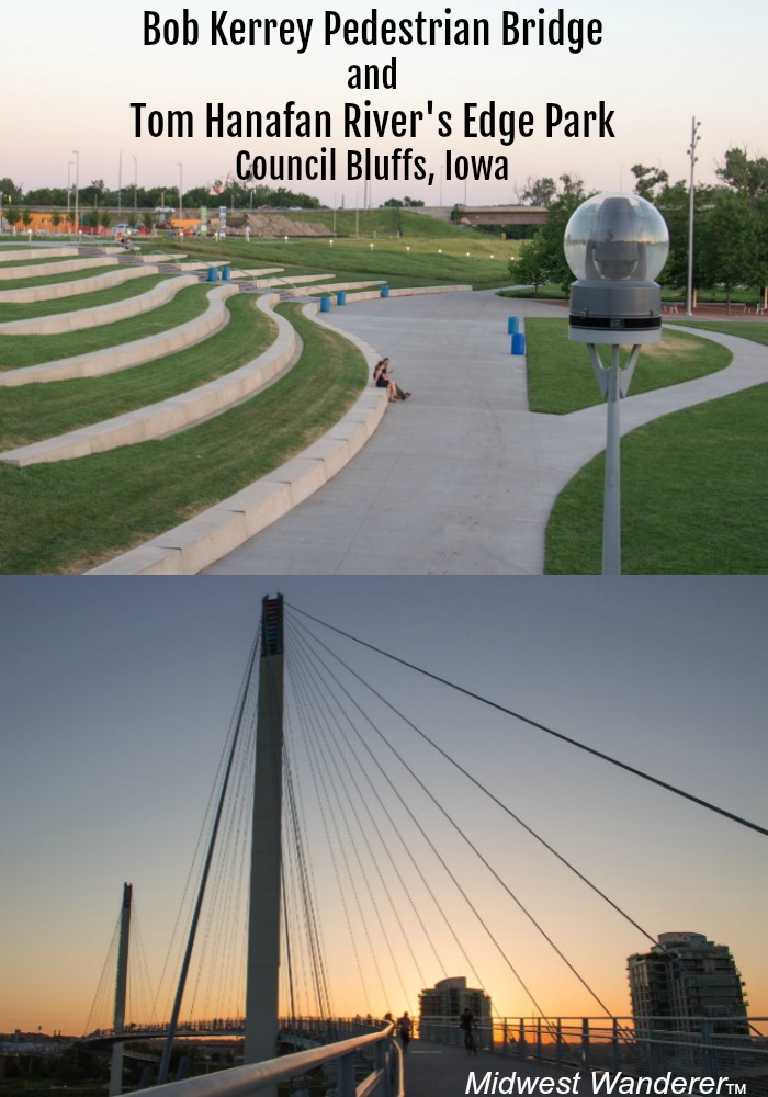 Bob Kerrey Pedestrian Bridge and Tom Hanafan Rivers Edge Park