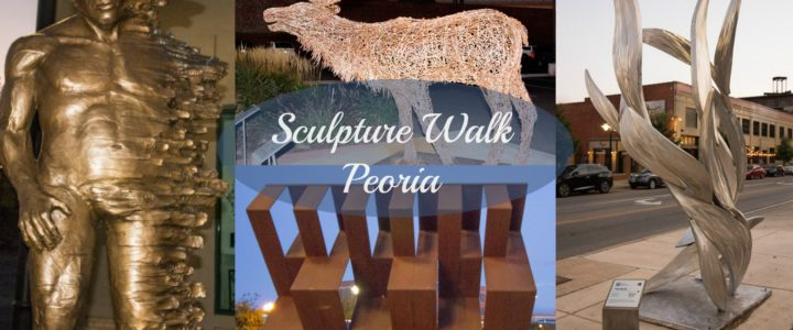 Sculpture Walk Peoria Enhances Warehouse District