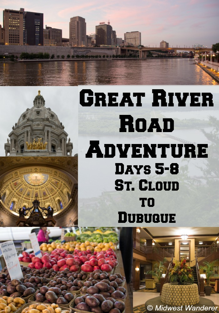 Great River Road Adventure Days 5-8