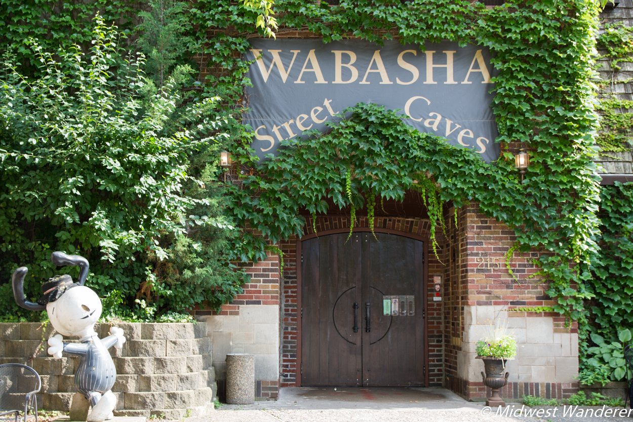 Wabasha Street Caves entrance