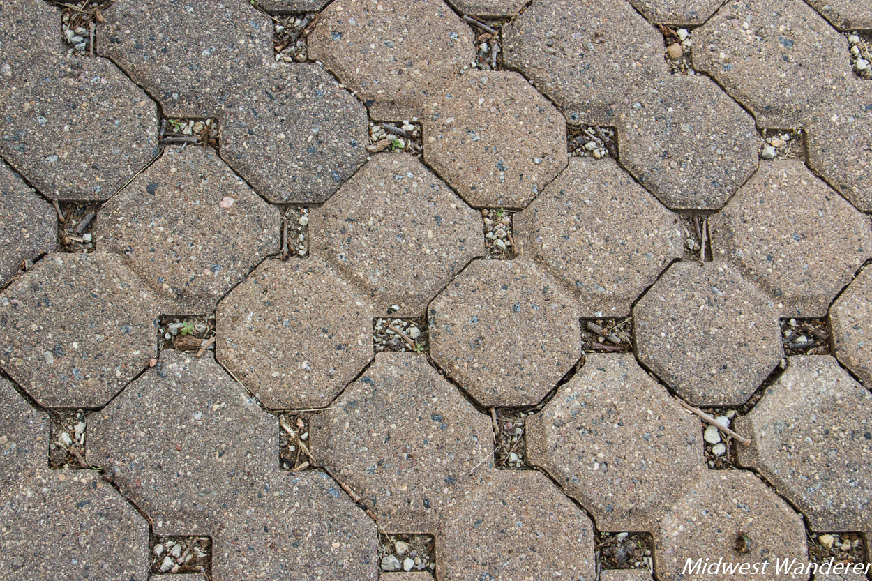 Hitchcock Nature Center permeable pavers