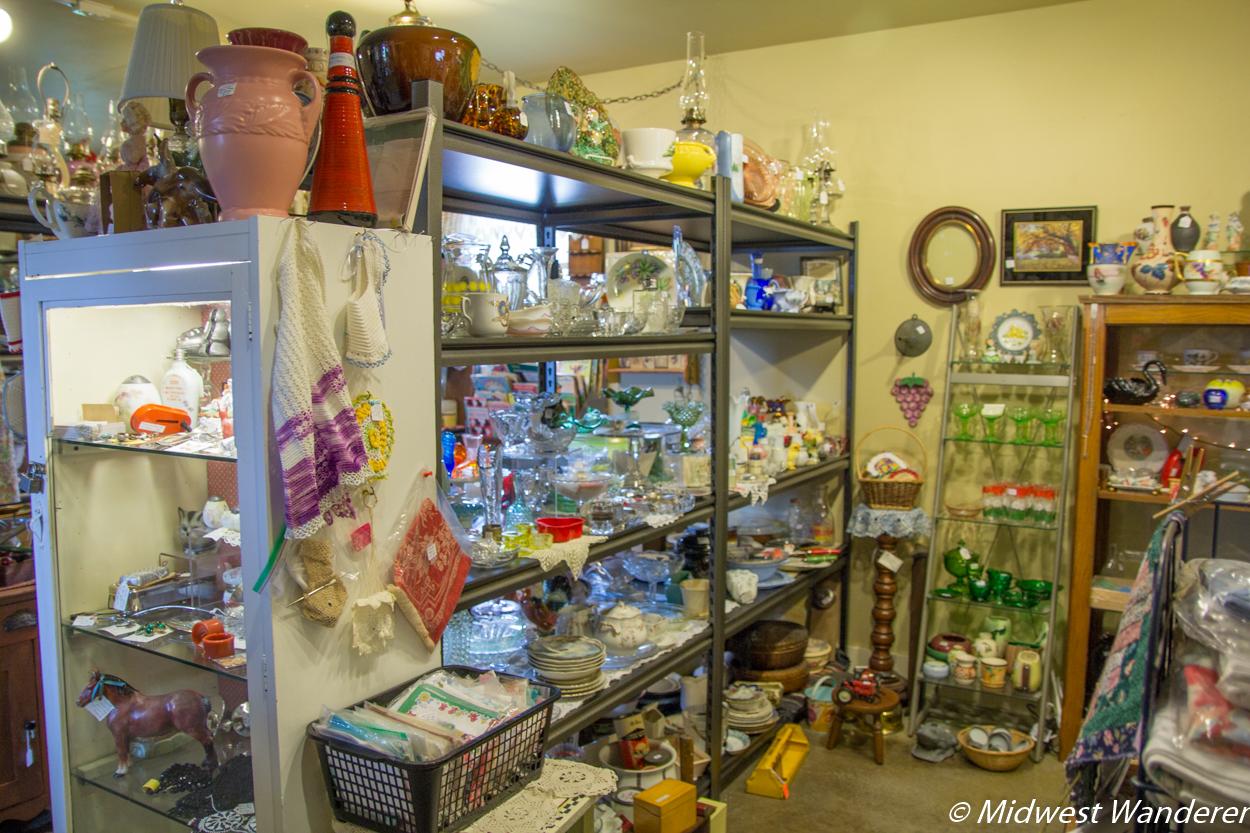 Antique shop on the Iowa Antique Trail