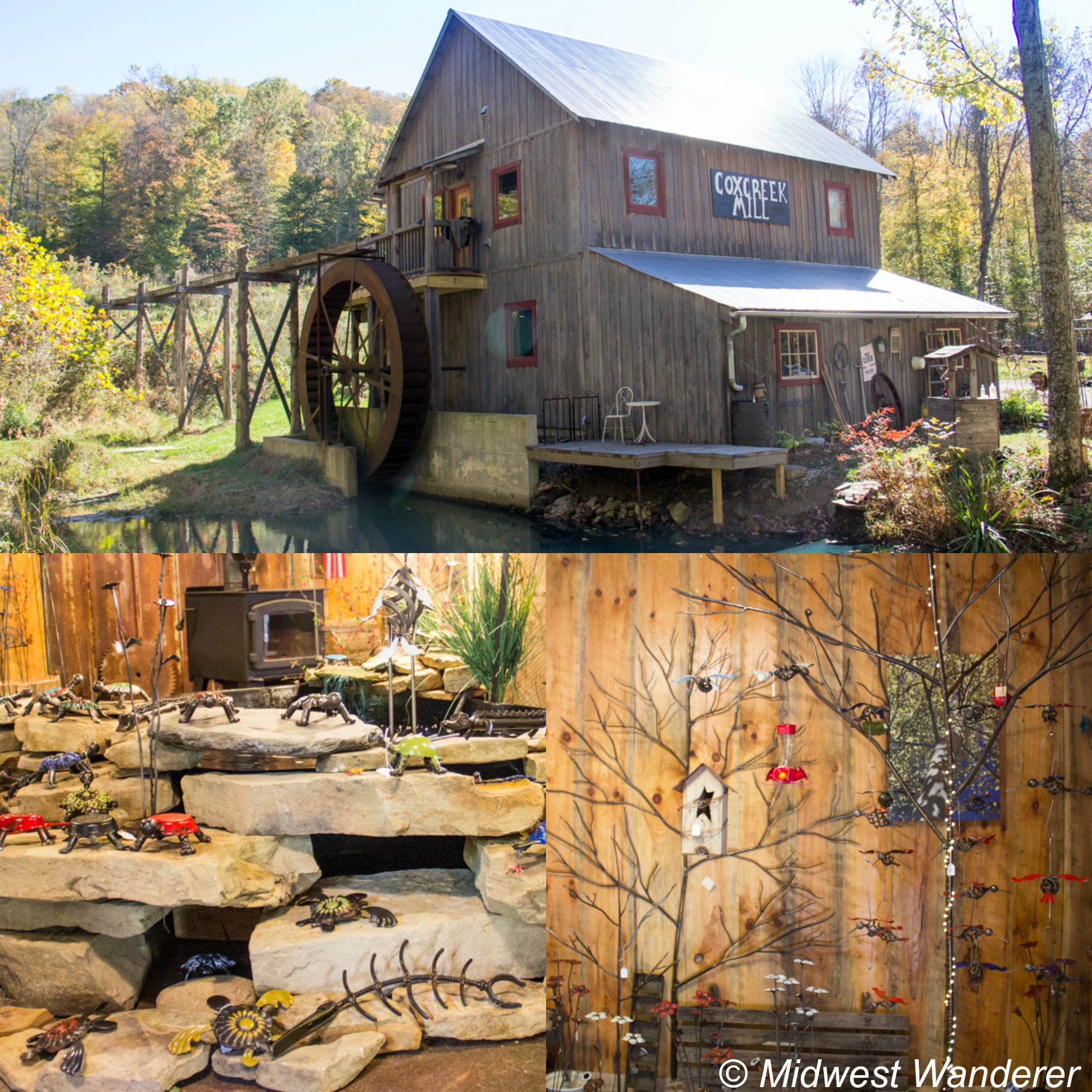 Cox Creek Mill on the Brown County Studio Tour