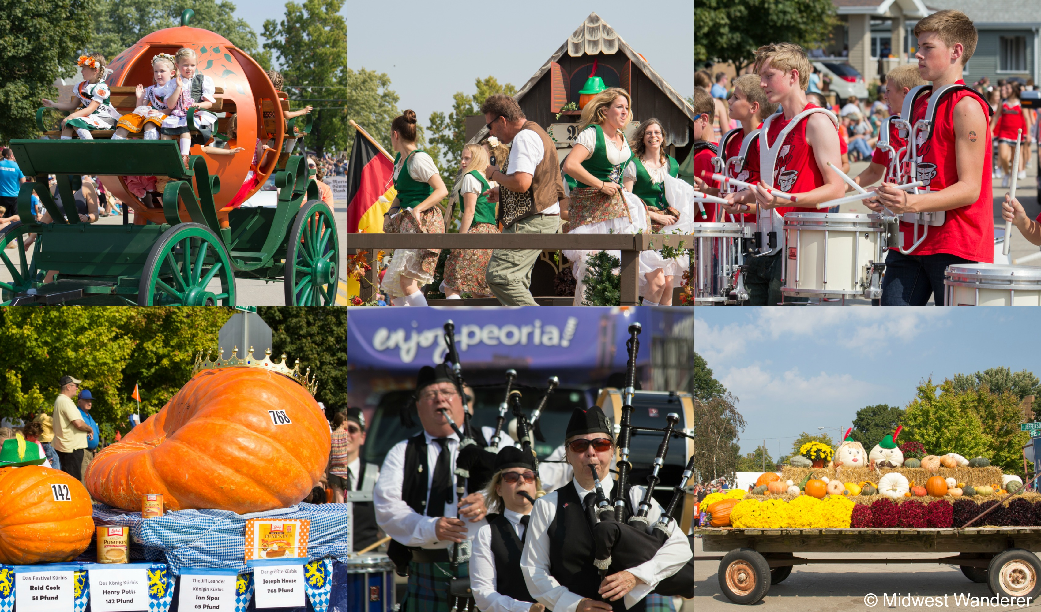 Morton Pumpkin Festival Parade