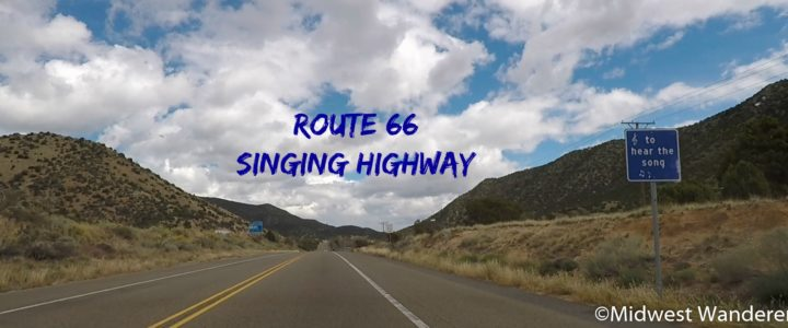Driving the Route 66 Singing Highway