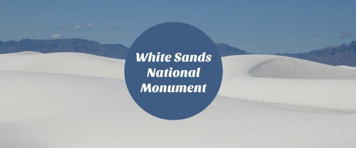 White Sands National Monument: Sledding and Hiking