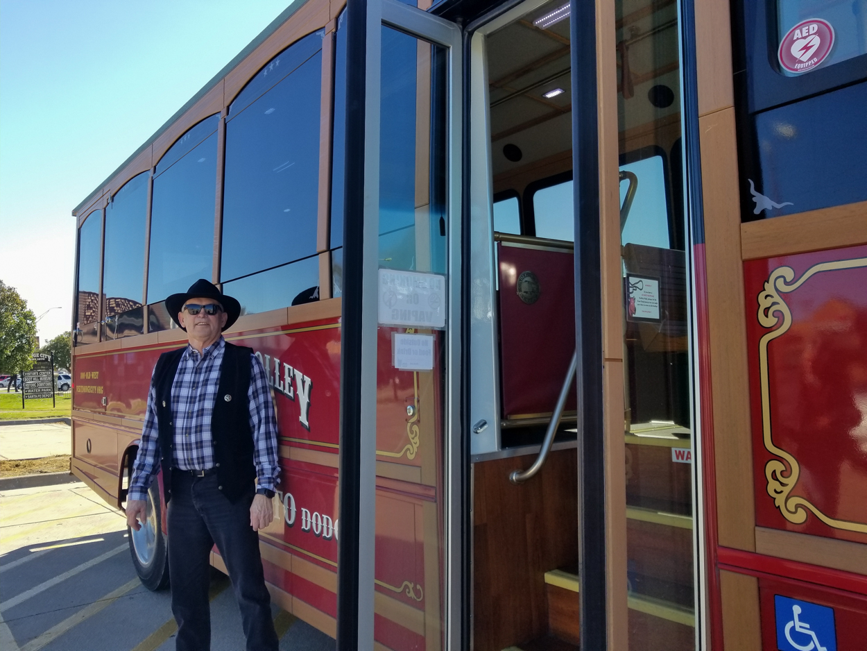 Dodge City Trolley Tour - Trolley