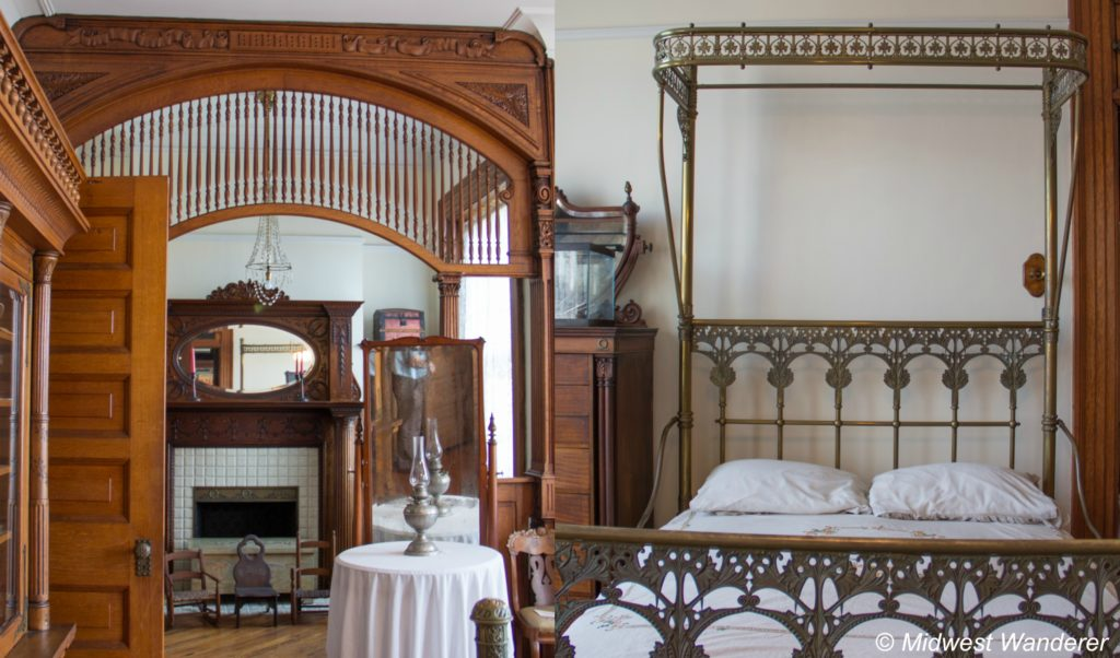 This image has an empty alt attribute; its file name is Howard-Steamboat-Museum-Bedroom-1024x602.jpg