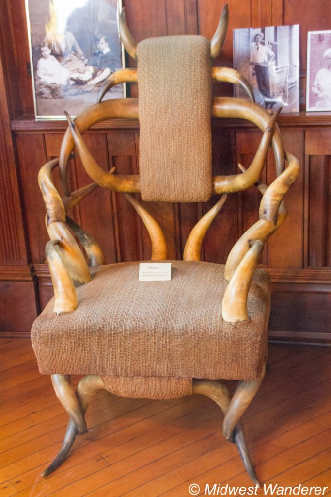 This image has an empty alt attribute; its file name is Howard-Steamboat-Museum-chair-683x1024.jpg