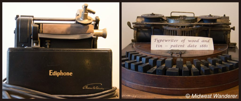 Howard Steamboat Museum office equipment