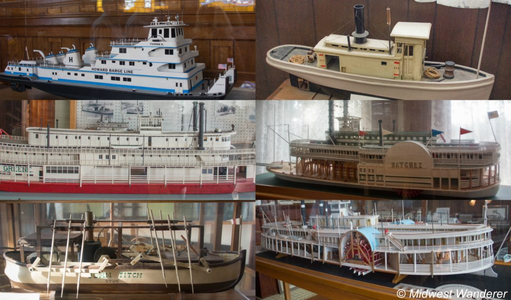 This image has an empty alt attribute; its file name is Howard-Steamboat-Museum-riverboat-models-1024x602.jpg
