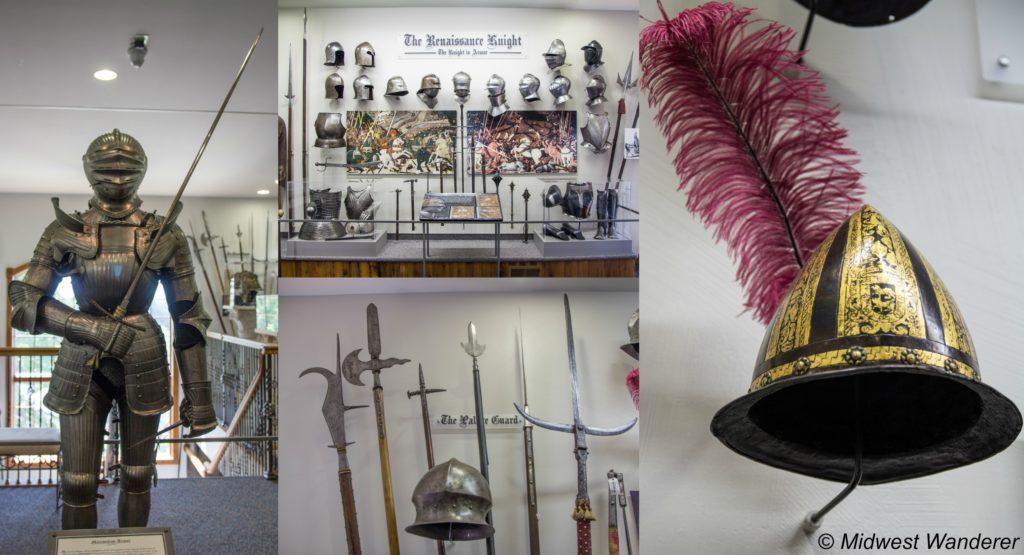 Castlerock Museum exhibits