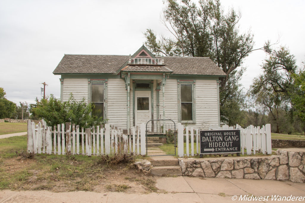 House owned by Eva Dalton Whipple and used as a hideout for the Dalton Gang