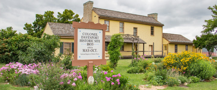 Colonel Davenport House: History on the Mississippi