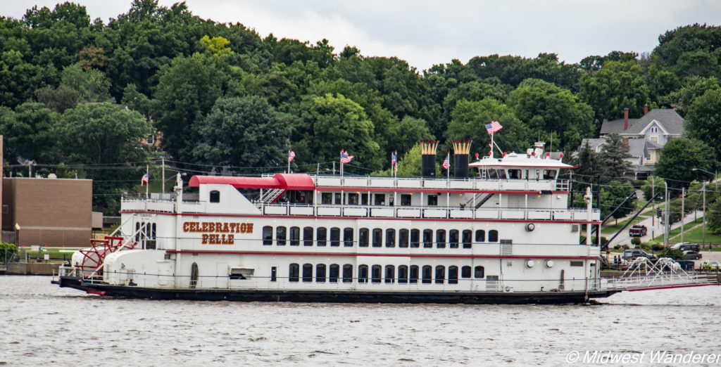 Celebration Belle on the Mississippi River