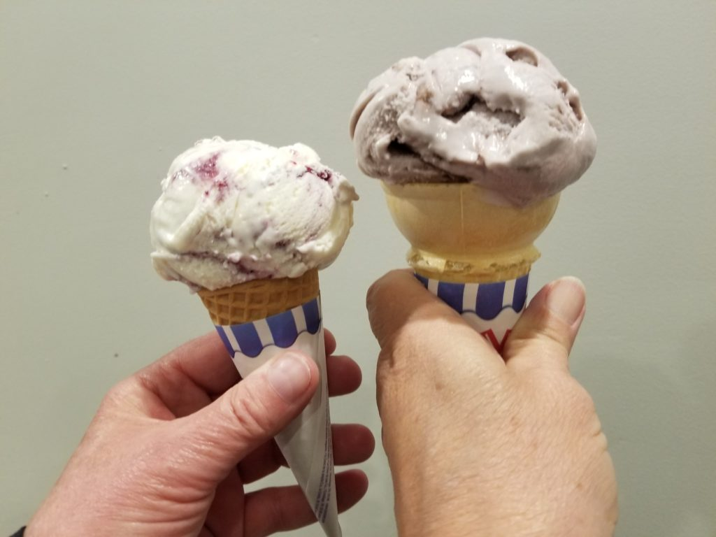 Scoops Ice Cream cones