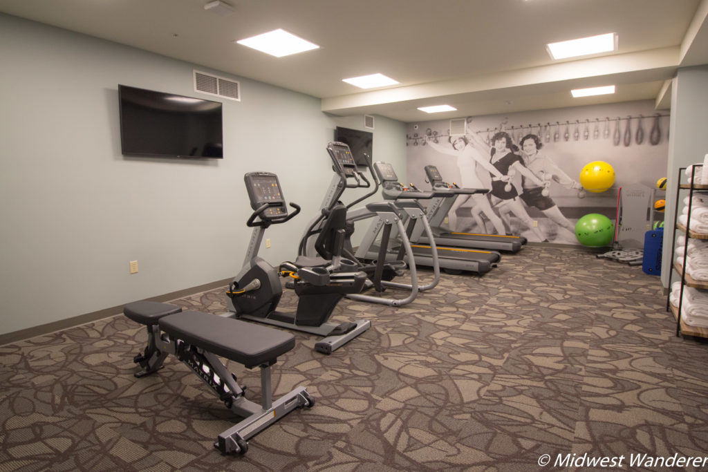 Stella Hotel and Ballroom fitness room
