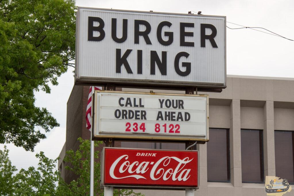 The original Burger King in Mattoon, Illinois